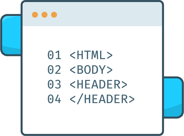 Code HTML d'une page